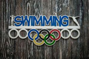 Холдер для спортивных медалей  Плавание