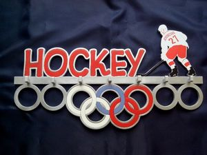 Держатель для медалей Хоккей