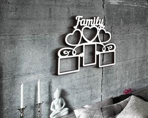 Деревянная фоторамка Family