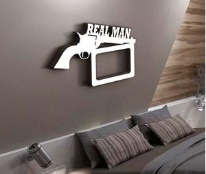 Деревянная фоторамка Real man
