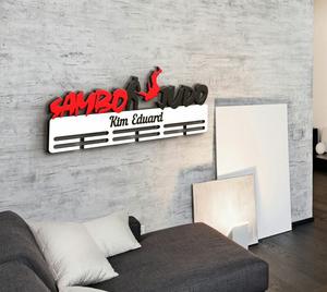 Держатель для медалей Самбо vs Дзюдо