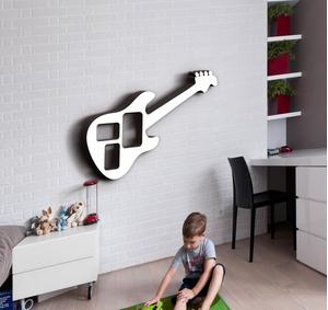 Деревянная фоторамка Гитара