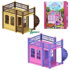 """Домик для кукол """"Замок принцессы"""" (1этаж)"""
