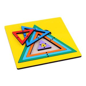 Радужная паутинка Треугольник