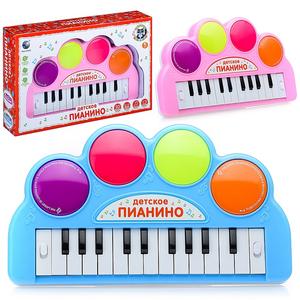 "Пианино""Радуга""на батарейках, в коробке"
