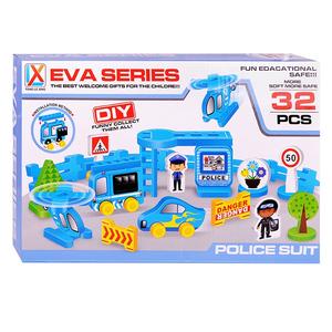 Конструктор Полиция (32 дет.)