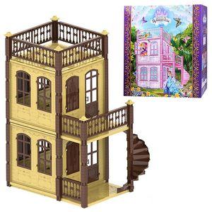 """Домик для кукол """"Замок принцессы"""" (2 этажа)"""