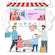 Готовый интернет магазин детских товаров